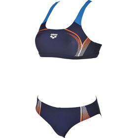 arena Modular Two-Pieces Swimsuit Women navy-mango